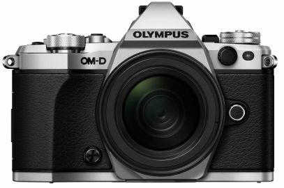 Olympus OM-D E-M5 Mark II srebrny + ob. 12-50 czarny