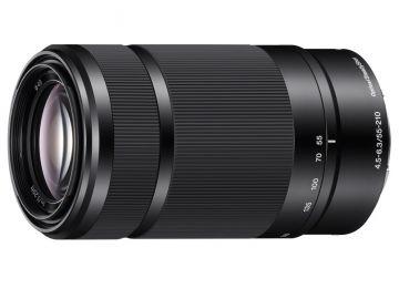 Sony E 55-210 OSS mm f/4.5-6.3 czarny (SEL55210) / Sony E
