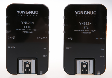 Yongnuo YN-622N zestaw 2 nadajników/odbiorników (stopka Nikon)