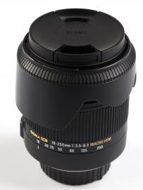 Sigma 18-250 mm f/3.5-f/6.3 DC OS HSM Macro / Nikon - powystawowy