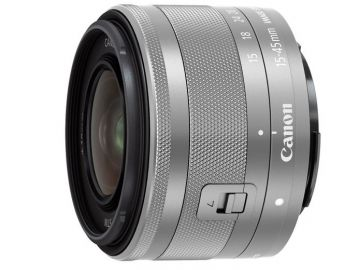 Canon EF-M 15-45 mm f/3.5-6.3 IS STM srebrny