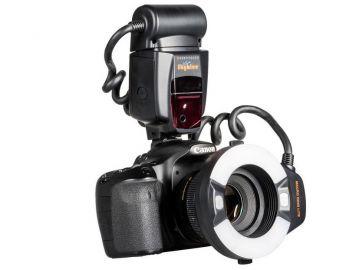 Delta MeiKe Skyblue MK-14EXT do Canon