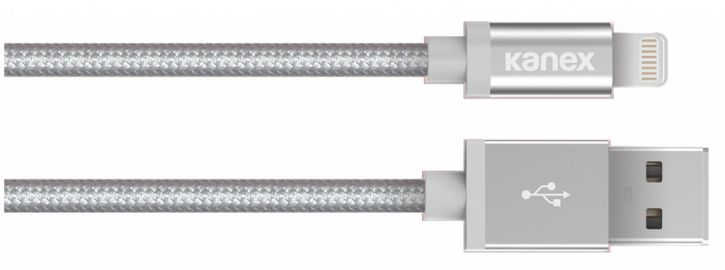 Kanex Kabel MFi ze złączem Lightning srebrny 1.2 metra