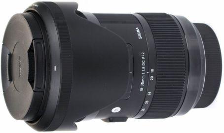 Sigma A 18-35mm F1.8 DC HSM / Sony - powystawowy