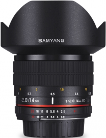 Samyang 14 mm f/2.8 IF ED UMC Aspherical / Nikon AE