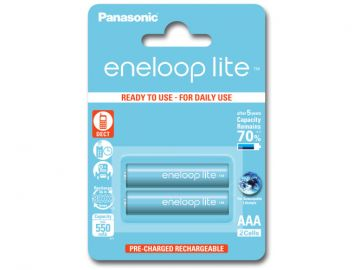 Panasonic Eneloop LITE AAA 550 mAh 3000 cykli 2szt.