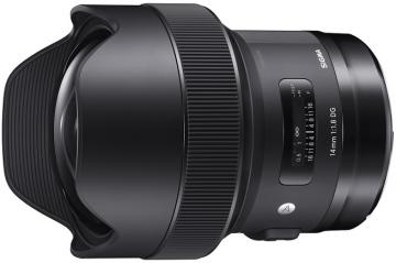 Sigma A 14 mm f/1.8 DG HSM / Canon