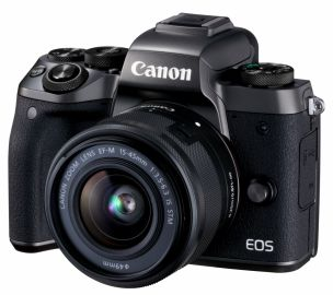 Canon EOS M5 + ob. 15-45 IS STM