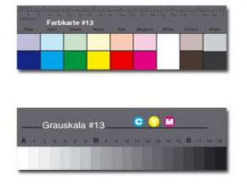Colour Confidence Small Greyscale i Colour Separation Guide