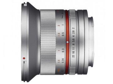 Samyang 12 mm f/2.0 NCS CS / Samsung NX srebrny
