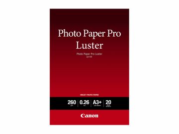 Canon LU-101 Photo Pro Luster A3+ 20 ark.
