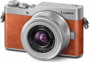 Panasonic Lumix DC-GX800 + ob. 12-32 pomarańczowy
