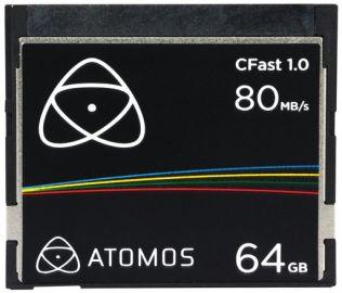 Atomos CFast 1.0 Memory Card 64GB
