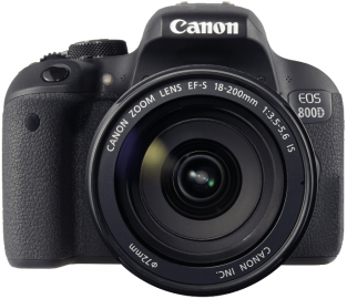 Canon EOS 800D + ob. 18-200 IS