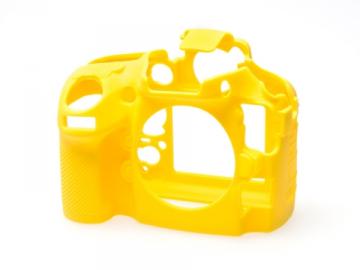 EasyCover  osłona gumowa dla Nikon D800/D800E żółta