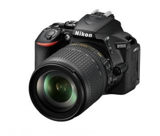 Nikon D5600 + 18-105 AF-S VR - CASHBACK 215 PLN