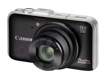 Aparat cyfrowy Canon PowerShot SX230 HS czarny