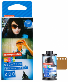 Lomography COLOR NEGATIVE 400 ISO 3 PCS 135 FILM