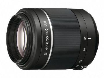 Sony 55-200 mm f/4.0-f/5.6 DT SAM (SAL55200) / Sony A