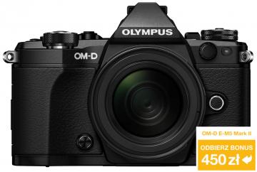 Olympus OM-D E-M5 Mark II czarny + ob. 12-50 czarny