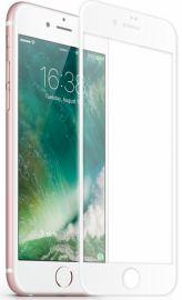 JCPAL Szkło Ochronne Ultra-Tough Edge 3D iPhone 7 (biała ramka)