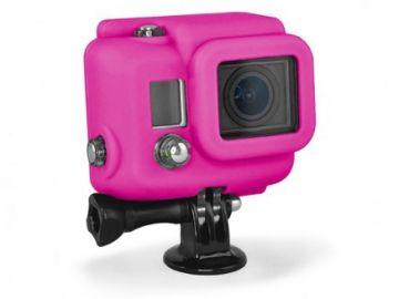 Xsories GoPro Hero 3 pokrowiec silikonowy różowy