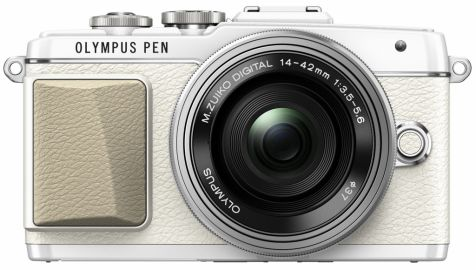 Olympus PEN E-PL7 Pancake Zoom Kit biały + ob. EZ-M 14-42 EZ srebrny