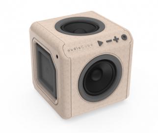 allocacoc bezprzewodowy audioCube Portable Wood Edition