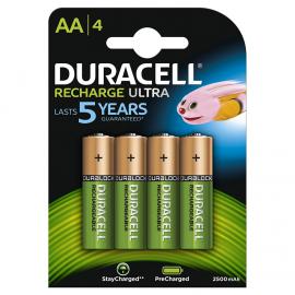 Duracell HR06 Recharge Ultra AA 2500mAh 4 szt.