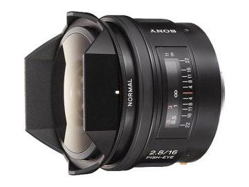 Sony 16 mm f/2.8 Fisheye rybie oko (SAL16F28.AE) / Sony A
