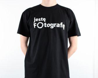 Cyfrowe.pl - koszulka męska Jestę Fotografę / rozm. S
