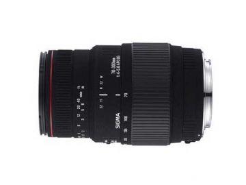 Sigma 70-300 mm f/4.0-f/5.6 DG APO MACRO  / Canon
