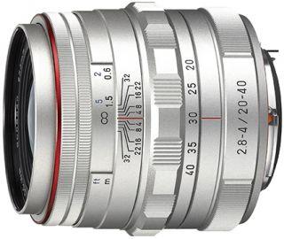 Pentax HD DA 20-40 mm F/2.8-4.0 ED DC WR Limited srebrny