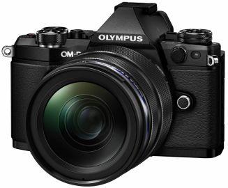 Olympus OM-D E-M5 Mark II czarny + ob. 12-40 PRO + 40-150 PRO + MC 1.4 czarny