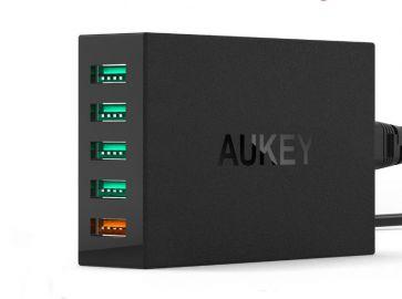 Aukey Ładowarka sieciowa PA-T1 5x USB