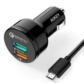Aukey Ładowarka samochodowa CC-T7 2x USB