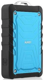 Aukey PB-P1 Power Bank 7500mAh wytrzymały, latarka, niebieski