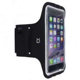 Xqisit Sportowa opaska na rękę na smartfona do 4.7 cala, czarna