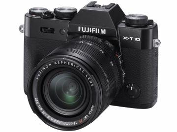 FujiFilm X-T10 czarny + ob. XF 18-55mm