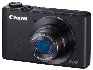 Aparat cyfrowy Canon PowerShot S110 czarny