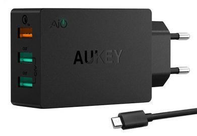 Aukey Ładowarka sieciowa PA-T2 3x USB