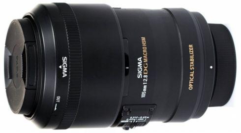 Sigma 105 mm f/2.8 DG OS EX HSM MACRO / Nikon - powystawowy