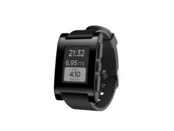 Pebble Original - zegarek dla urzadzeń z systemem iOS oraz Android (wersja jet black)
