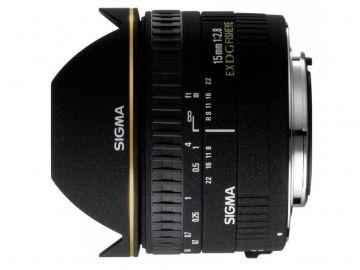 Sigma 15 mm f/2.8 DG EX rybie oko / Sony A