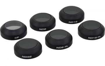 Polar Pro zestaw 6 filtrów drona dji mavic