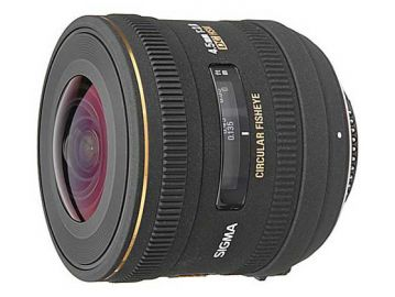 Sigma 4.5 mm f/2.8 DC EX HSM rybie oko / Canon