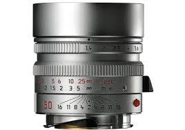 Leica SUMMILUX-M 50 mm f/1.4 ASPH. srebrny