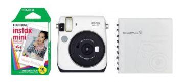 FujiFilm Instax Mini 70 biały + papier Mini Glossy 10/PK + album