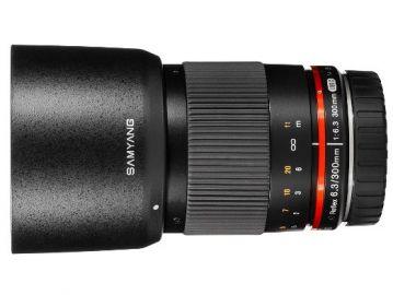 Samyang 300 mm f/6.3  Reflex ED UMC CS / Canon M czarny