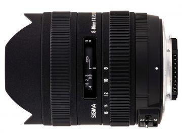 Sigma 8-16 mm f/4.5-f/5.6 DC HSM / Pentax